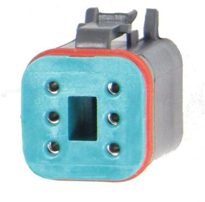 Connector 6 Pin PRC6-0014-B